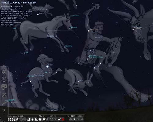Stellarium Sternenbilder