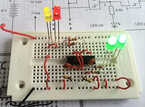 LED Flimmern
