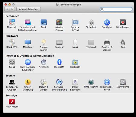 Entfernte Installation Mac Os X