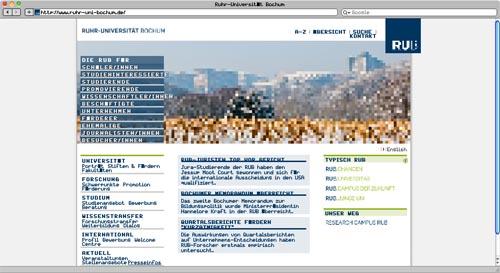 Ruhr Uni in 8 Bit